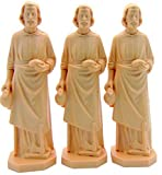 3X ST Joseph Statue Home vendeur Faith Saint Maison 8,9cm figurine NEUF par Shopcatholic