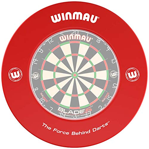 WINMAU Printed Red Dartscheibe Surround