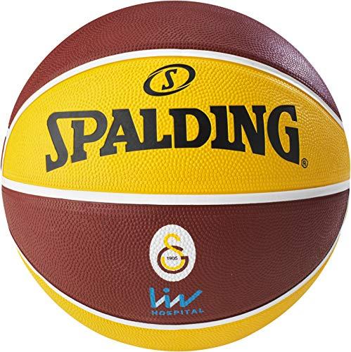 Spalding Ball EL Team Galatasaray Istanbul, Rot/Gelb, 7, 3001514013917