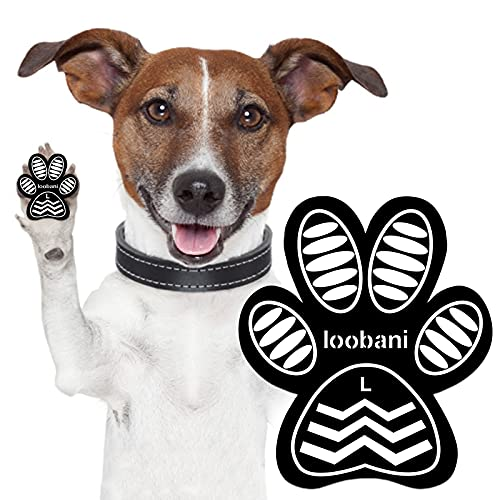 LOOBANI Dog Grip Pad Paw Protector Anti-Slip Traction Pads from Slipping on Hardwood Floors,...