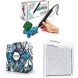 MYNT3D Super 3D Pen + 32 Color SuperPack PLA Filament + DesignPad Mat Kit