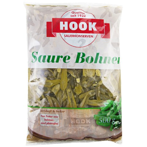 HOOK - Saure Bohnen - 500g (5 Beutel)