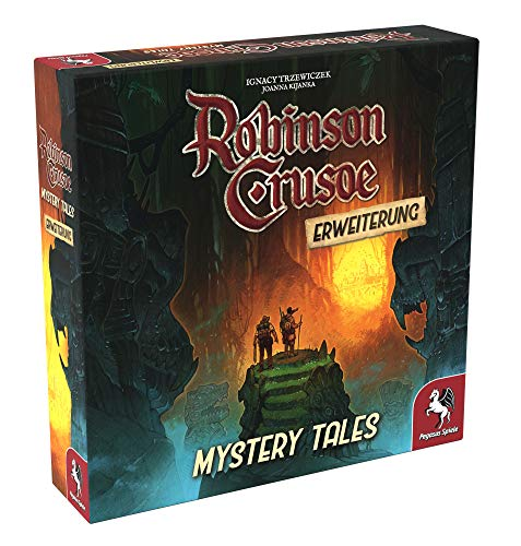 Pegasus Spiele 51948G - Robinson Crusoe: Mystery Tales (Erweiterung)