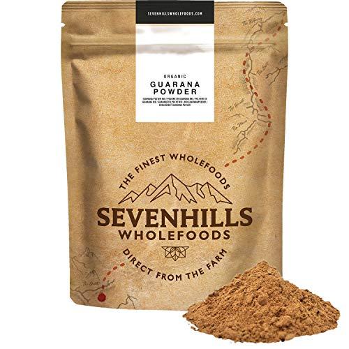 Sevenhills Wholefoods Guaraná En Polvo Orgánico 250g