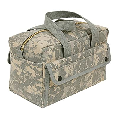 Rothco Mechanics Tool Bag with Brass Zipper by Rothco