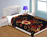 Craft Trade Single Bed Ac Dohar Soft and Light Weight Floral Pattern AC