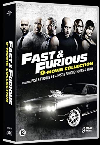 Fast and Furious : Coffret Integrale 9 Films [DVD]