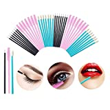 AOLANS 300PCS Disposable Makeup Applicators Mascara Wands Lipstick Brush Eyeliner Brushes Eyelash,makeup artist supplies Mascara Brushes Makeup Tool Kits(3color)