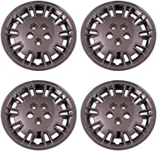 Set of 4 Chrome 17 Inch Aftermarket Replacement Hubcaps with Bolt On Retention System - Part Number: IWC427/17C