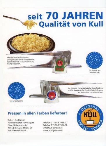 Kull Spätzle-Schwob Spätzlepresse - 6