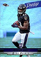 2019 Panini Prestige Xtra Points Green #254 Justice Hill Baltimore Ravens NFL Football Trading Card
