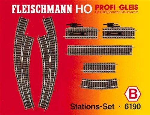 Fleischmann 6190 - Profi Gleis - Stations-Set