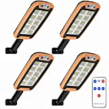 Luz Solar Exterior, Foco Solar Exterior 160 LED con Sensor De...