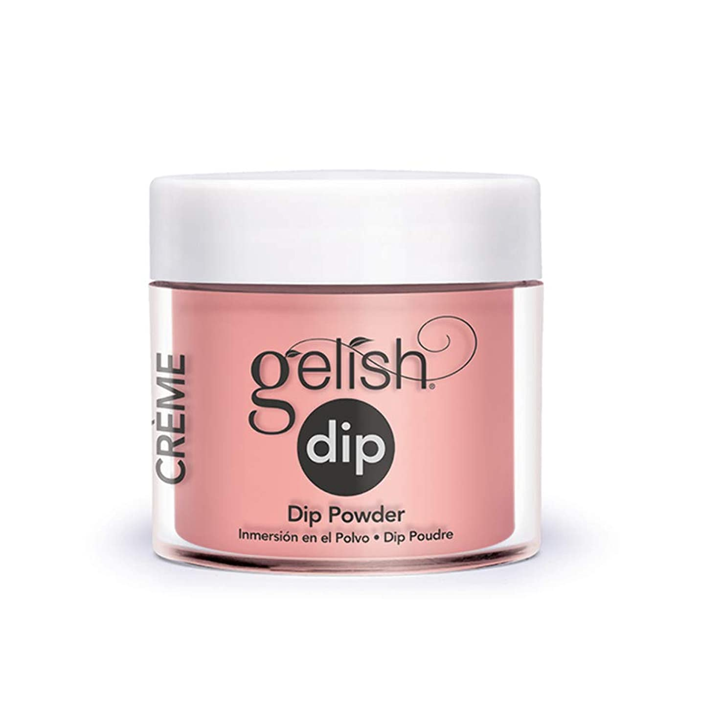 セメント行方不明絞るHarmony Gelish - Acrylic Dip Powder - Don't Worry, Be Brilliant - 23g / 0.8oz