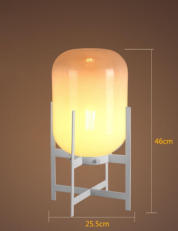 Nordic Moderne Glas Tischlampe Einfache kreative Persönlichkeit Schlafzimmer Nachttisch Nachttisch Nachttisch Lampe Studie Tischlampe (Farbe   2) B06XSDVBQP     | Züchtungen Eingeführt Werden Eine Nach Der Anderen  06b82e