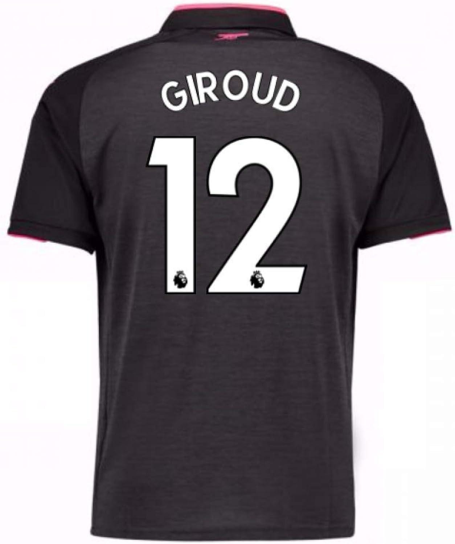 2017-18 Arsenal Third Football Soccer T-Shirt (Olivier Giroud 12)