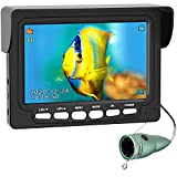 Underwater Ice Fishing Camera, ANYSUN 4.3 Inch IPS Monitor IP68 Waterproof Fish Cam Color HD Video...