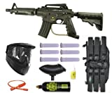 Tippmann US Army Alpha Black Elite Tactical Paintball Gun Starter Package