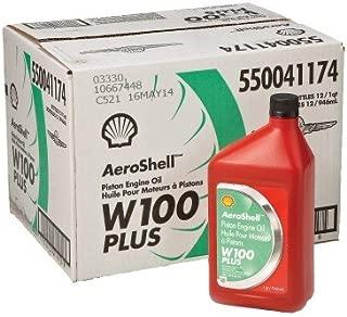AeroShell Oil W 100 Plus - 550041174 - 12 1Quart Case