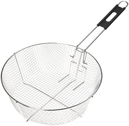 Lodge 12FB2 Deep Fry Basket,  11.5-inch Silver