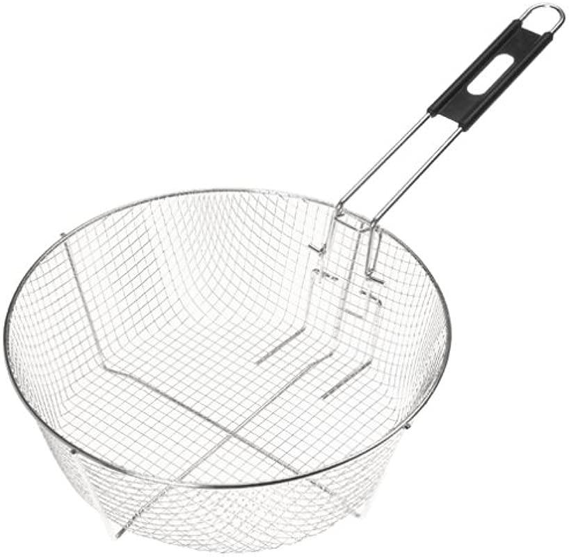 Lodge 12FB2 Deep Fry Basket 11 5 Inch Silver