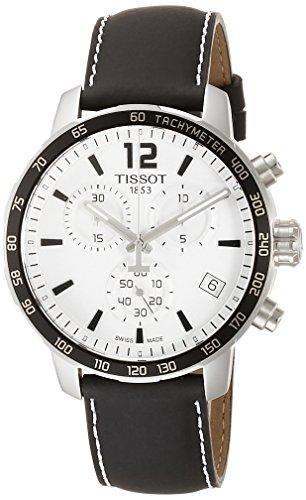 Tissot Herren-Uhren Analog Quarz One Size Leder 86472120