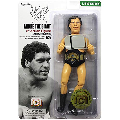 "MEGO Classic Andre The Giant 8"" Action Figure Re-Issue"