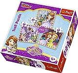 Trefl 34814 puzzle puzzle - rompecabezas (puzzle rompecabezas, chica, cartón, multicolor, polonia, ce, fsc, iso 9001:2468)