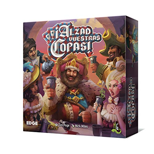 Horrible Games Asmodee - ¡Alzad vuestras Copas! (Edge Entertainment EDGRYG01)