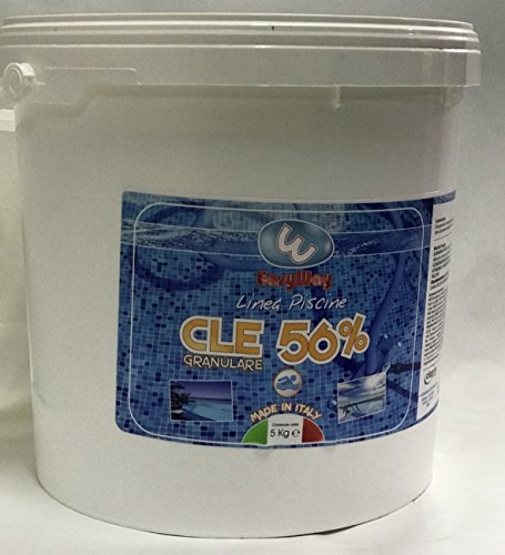 dicloro granuleuse kg. 20 eau Clean pour piscine