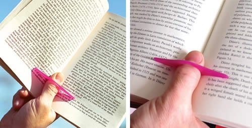 Thumb Thing Book Holder - Reggi Libro da Dito