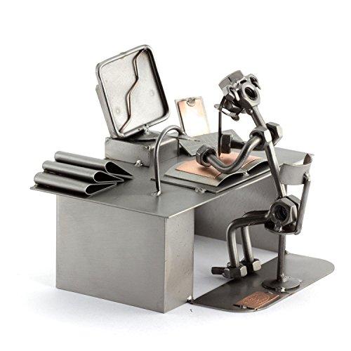 Steelman24 I Schraubenmännchen PC Computer I Made in Germany I Handarbeit I Geschenkidee I Stahlfigur I Metallfigur I Metallmännchen