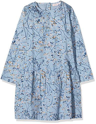 Noa Noa miniature Mädchen Mini Rush Kleid, Blau (Blue Shadow 810), 92 (Herstellergröße: 2y)