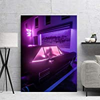 土曜の夜キャンバス絵画アートポスターとプリントモダンアートリビングルーム寝室装飾壁画