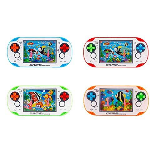 Ardorman Mini Consola De Juegos Portátil, Consola De Juegos Retro Consola De Juegos Classic Circles Game Machine, Water Ring Machine, Game Screen Game Console For Kids Gift Best