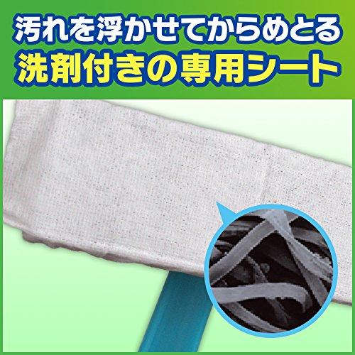 スクラビングバブル網戸掃除網戸ワイパー本体ワイパー+専用ウェットシート2枚