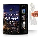 Stuff4 Gel TPU Hülle/Case für Microsoft Lumia 435 / Leben