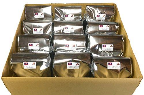 【まとめ買い】アイスコーヒー ラオスブレンド(粉) 500g×12袋【計6Kg】【藤田珈琲 コーヒー豆】