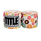 Title Print Mexican Style Hand Wrap, Donuts, 180'