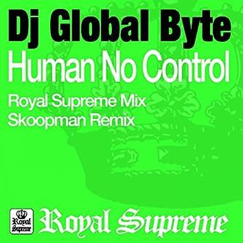 Human No Control