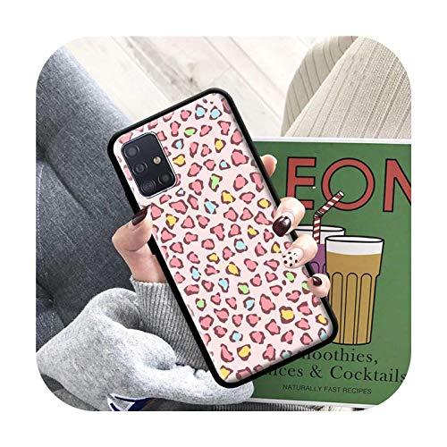 Phone cover Funda para Samsung Galaxy A51 A71 M51 M40 A31 A41 A91 A21S M30S M31 Soft Bolso Coque Capa-B05-For Galaxy A72