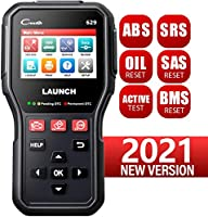LAUNCH CR629 Scan Tool ABS SRS OBD2 Scanner Car Code Reader with Active Test, Oil/SAS/BMS Reset, Full OBD2 Functions, PC...