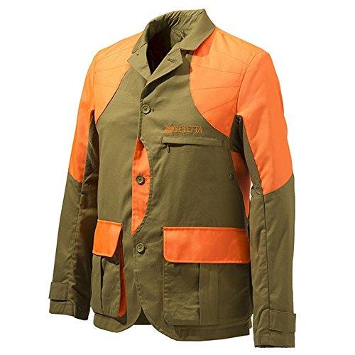 Beretta Mens Upland Light Jacket; Light Brown/Orange