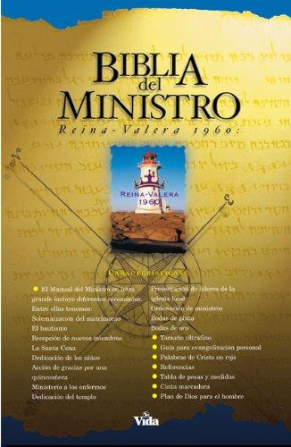 2760I Biblia del Ministro Negro Imitación Índice