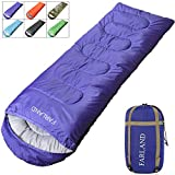 FARLAND Rectangular Sleeping Bags 20 Degree ℉,Cold Weather 4 Season for Adults, Youth, Kids, Unisex for Camping, Hiking, Waterproof, Traveling, Backpacking and Outdoors