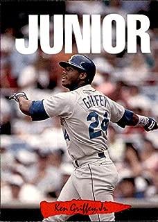 Ken Griffey Jr. HOF Seattle Mariners 1993 Donruss Triple Play Nicknames #5 Junior MLB Baseball Card (Box213MP)