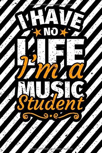 Notizbuch liniert: Musikstudent Musikstudium Musik Student Geschenk