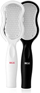 Bocas Pedicure Foot File Callus Remover FC1000(Color Random Shipment) Foot Rasp Professional Stainless Steel Callus File for Wet and Dry Feet Foot Care Metal Surface Tool To Remove Hard Skin