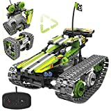 Remote Control Car Building Kit - RC Tracked Racer 3 in 1 Building Set, Fun,...