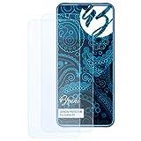 Bruni Schutzfolie kompatibel mit Oukitel K9 Folie, glasklare Bildschirmschutzfolie (2X)